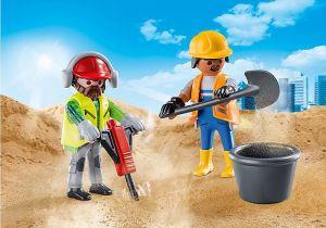 Dva stavební dělníci 70272