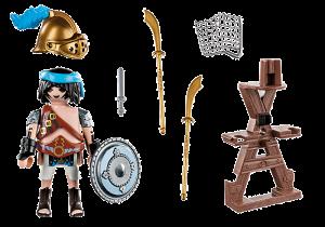Gladiátor se stojanem na zbraně 70302 Playmobil Playmobil