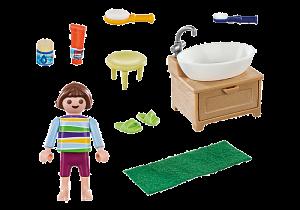 Holčička při čištění zoubků 70301 Playmobil Playmobil