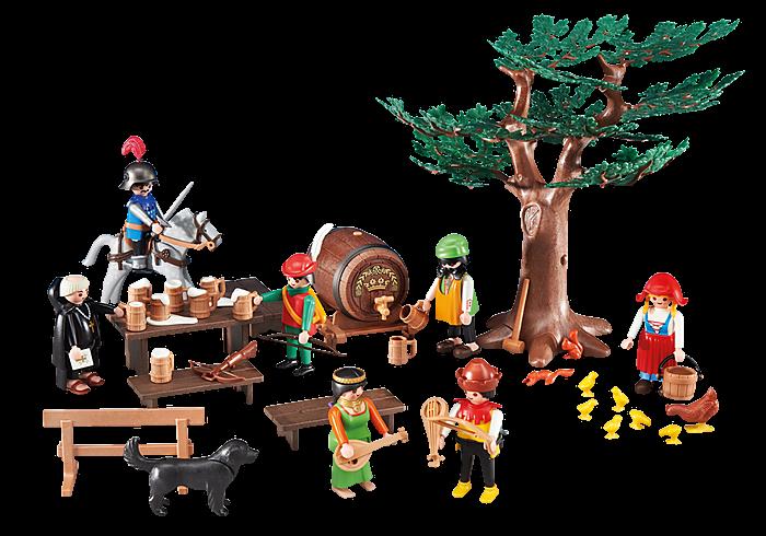 Hostina zbojníků 6464 Playmobil Playmobil