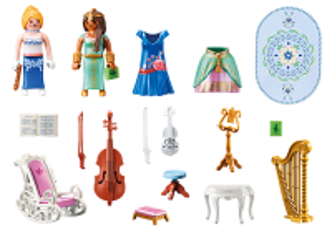 Hudební pokoj 70452 Playmobil Playmobil