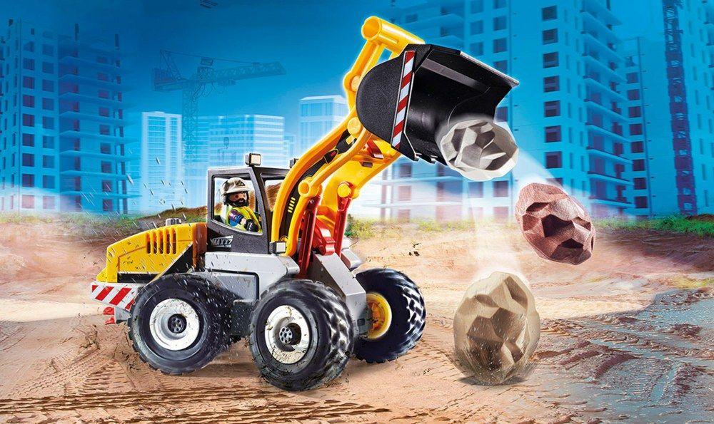 Kolový nakladač 70445 Playmobil Playmobil