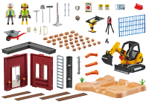 Minibagr 70443 Playmobil Playmobil