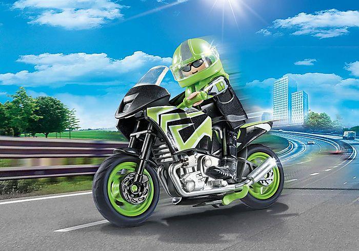Motorkář 70204 Playmobil Playmobil