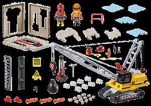 Pásový jeřáb 70442 Playmobil Playmobil