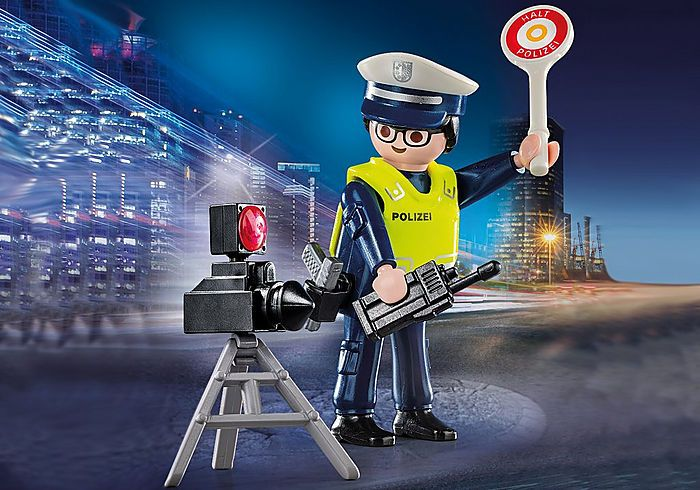Policista s radarem 70304 Playmobil Playmobil
