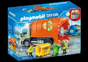 Popelářské auto 70200 Playmobil Playmobil