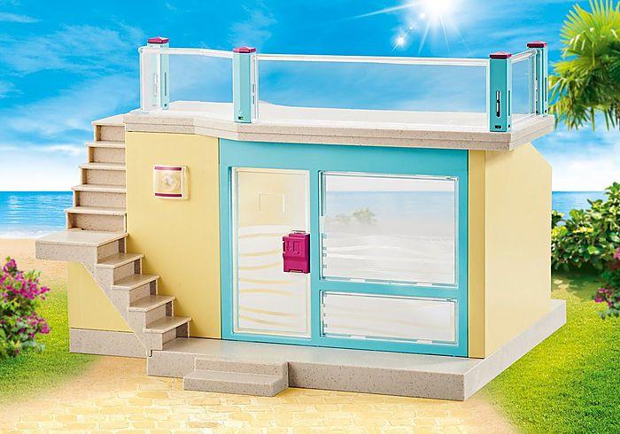 Prázdný bungalov 9866 Playmobil Playmobil