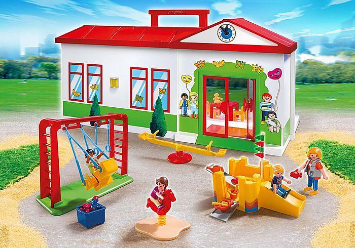 Přenosná Mateřská škola 5606 Playmobil Playmobil