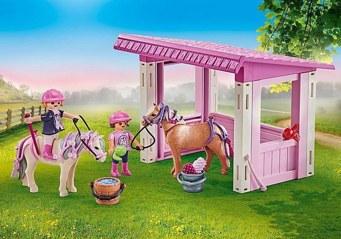 Přístřešek s poníky a princeznami 9878 Playmobil Playmobil