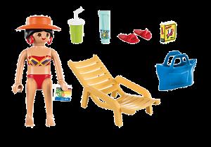 Rekreantka s lehátkem 70300 playmobil Playmobil