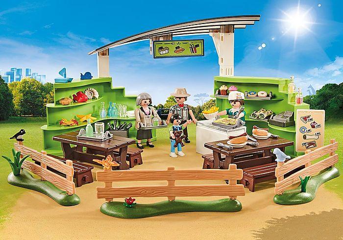 Restaurace v ZOO 9871 Playmobil Playmobil
