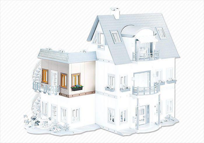 Rohové rozšíření Obytného domu 7389 Playmobil Playmobil
