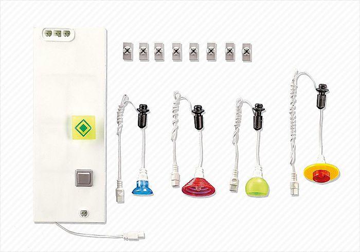 Rozšíření osvětlení Obytného domu 7391 Playmobil Playmobil