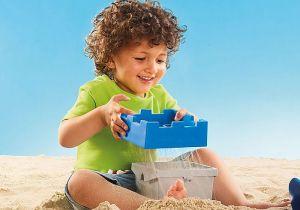 Sada na písek Hrad (1.2.3) 70340 Playmobil Playmobil