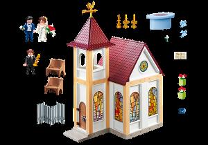 Svatební kaple 5053 Playmobil Playmobil