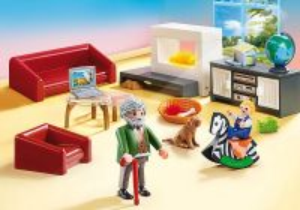 Útulný obývací pokoj 70207 Playmobil Playmobil