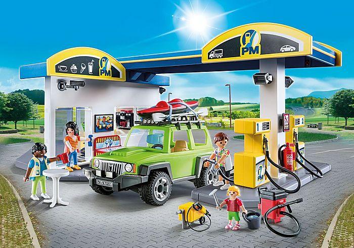 Velká čerpací stanice 70201 Playmobil Playmobil