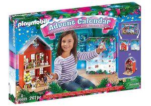 """Velký adventní kalendář """"Vánoce v městském domě"""" 70383 Playmobil Playmobil"""