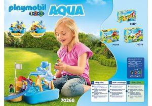 Vodní mlýn s kolotočem (1.2.3) 70268 Playmobil Playmobil