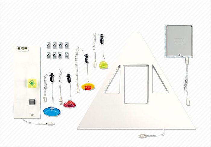 Základní osvětlení Obytného domu 7390 Playmobil Playmobil
