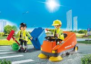 Zametací vůz 70203 Playmobil Playmobil