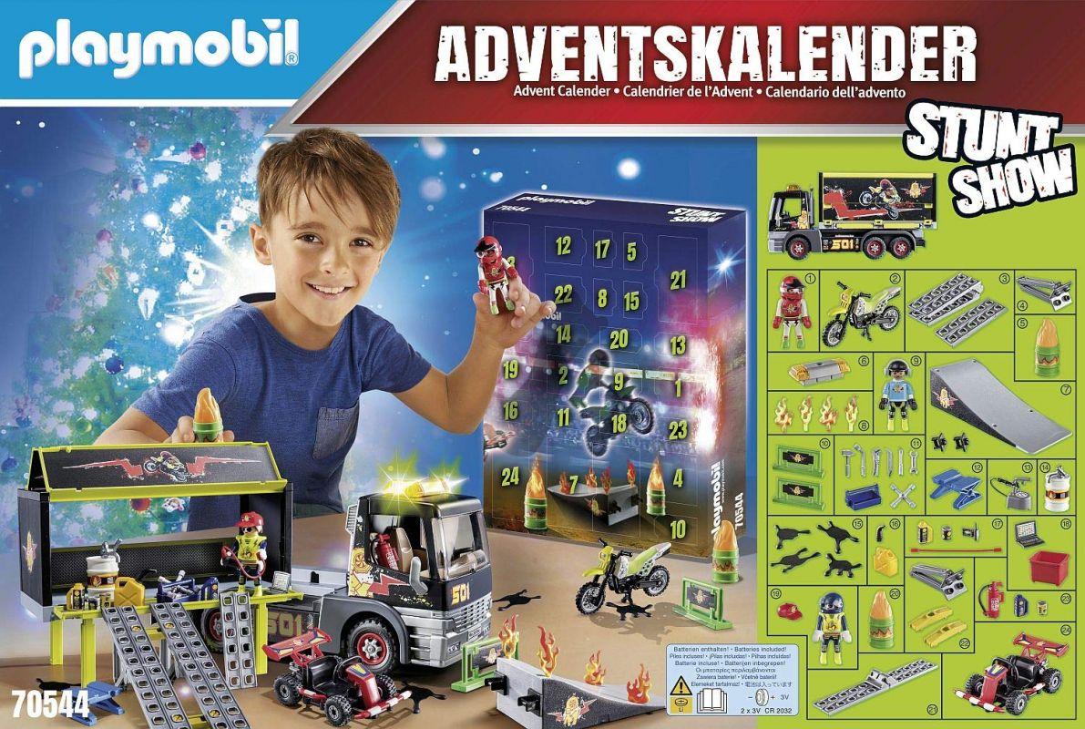 """Adventní kalendář """"Kaskadérská show"""" 70544 Playmobil Playmobil"""