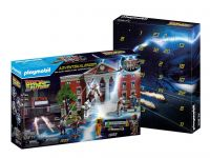 """Adventní kalendář """"Návrat do budoucnosti"""" 70574 Playmobil Playmobil"""