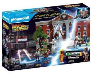 """Adventní kalendář """"Návrat do budoucnosti"""" 70574 Playmobil"""