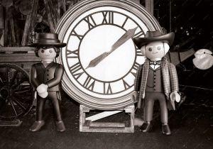 """Adventní kalendář """"Návrat do budoucnosti III"""" 70576 Playmobil Playmobil"""