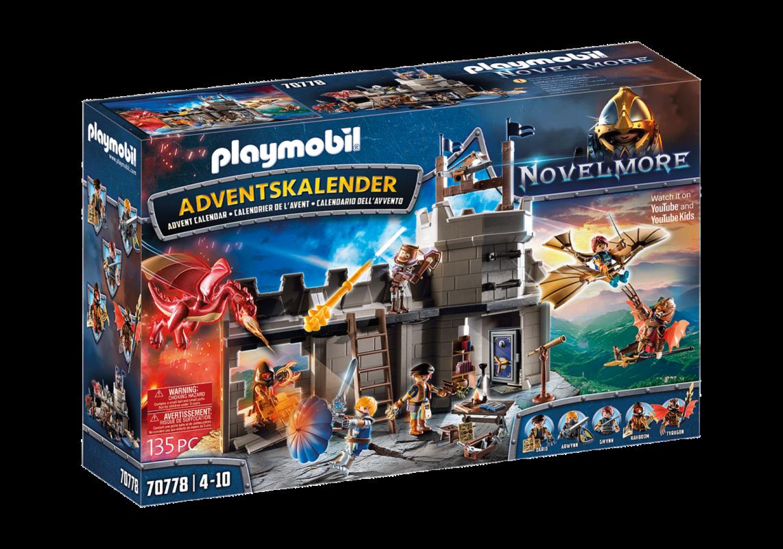 "Adventní kalendář Novelmore ""Dariova dílna"" 70778 Playmobil Playmobil"