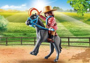 Jezdkyně na rodeu 70602