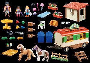 Kemp pro poníky 70510 Playmobil Playmobil