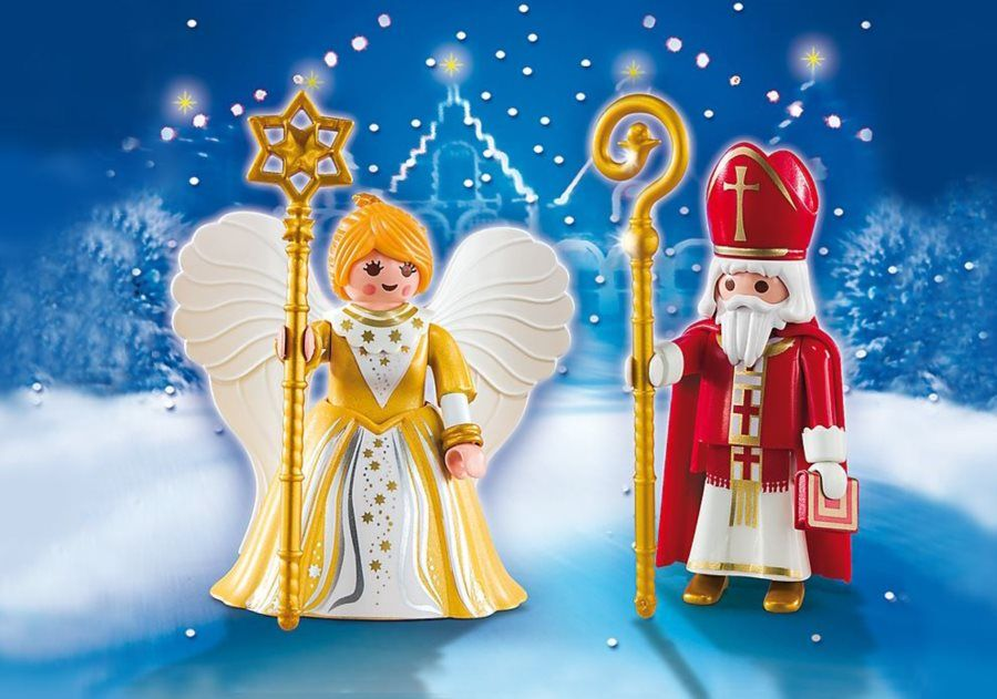 Mikuláš a anděl 5592 Playmobil Playmobil