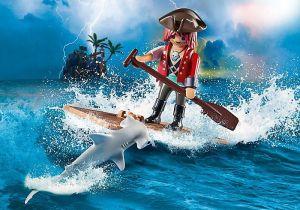 Pirát s vorem a žralokem 70598