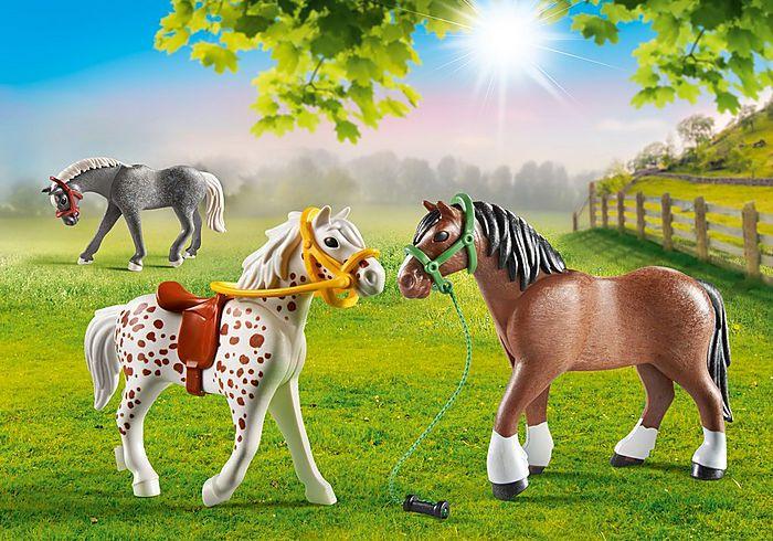 Tři koně 70683 Playmobil Playmobil