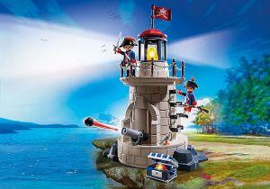 Věž s majákem 6680 Playmobil