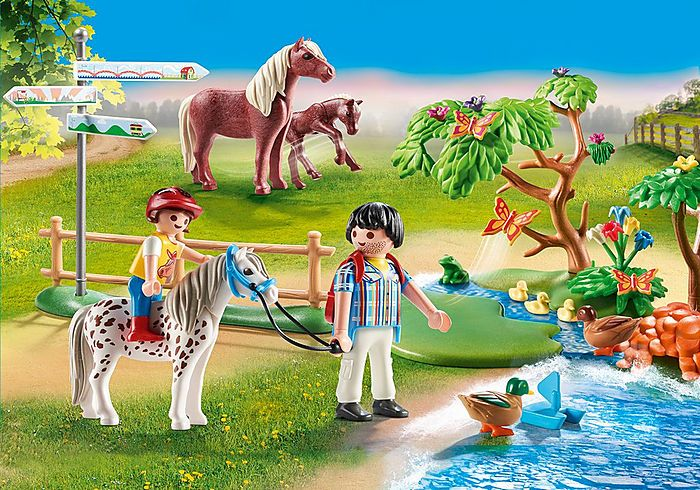 Výlet s poníkem 70512 Playmobil Playmobil