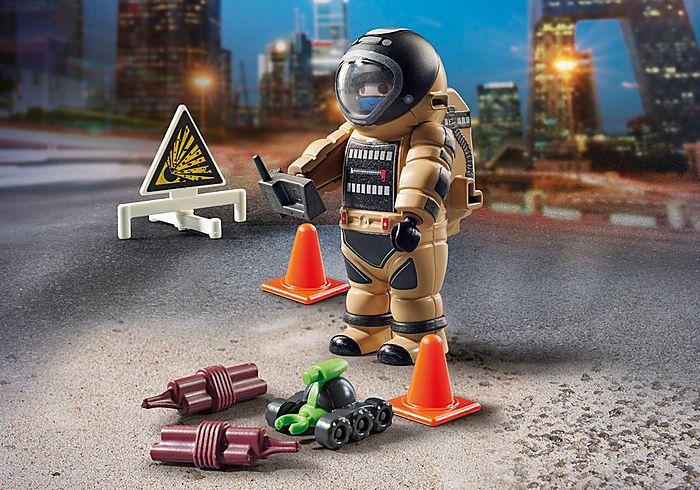 Zneškodnění bomby 70600 Playmobil Playmobil