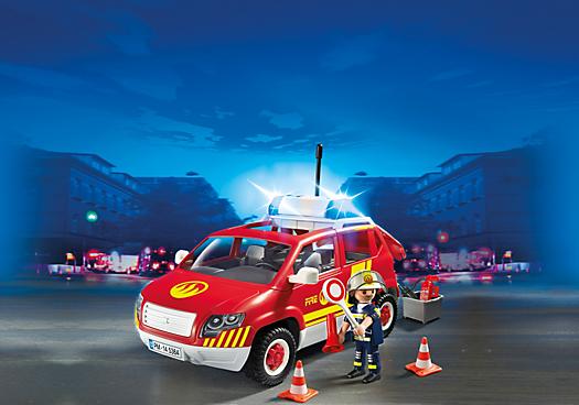 Auto velitele hasičů 5364 Playmobil Playmobil