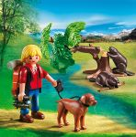 Bobři a přírodovědec 5562 Playmobil Playmobil