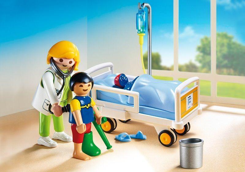Dětská lékařka s pacientem 6661 Playmobil Playmobil