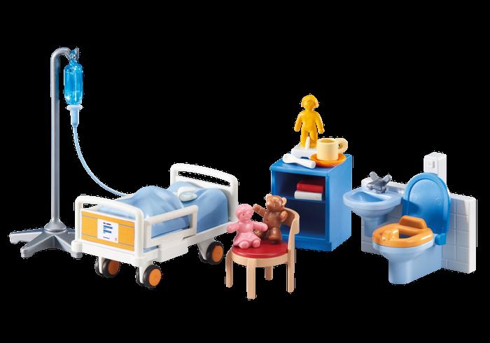 Dětský nemocniční pokoj 6444 Playmobil Playmobil