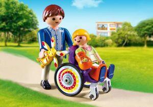 Dítě na vozíku 6663