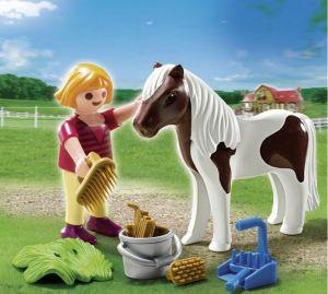Dívka s poníkem 5291