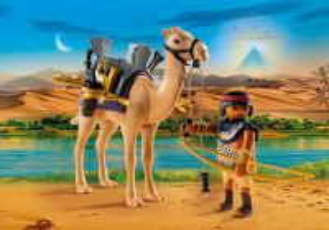 Egyptský bojovník s velbloudem 5389