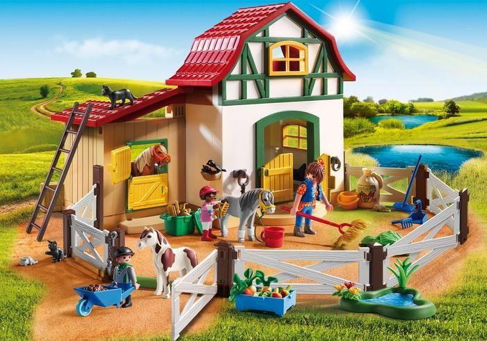 Farma s poníky 6927 Playmobil Playmobil