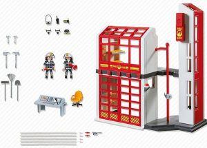 Hasičská stanice s alarmem 5361 Playmobil Playmobil