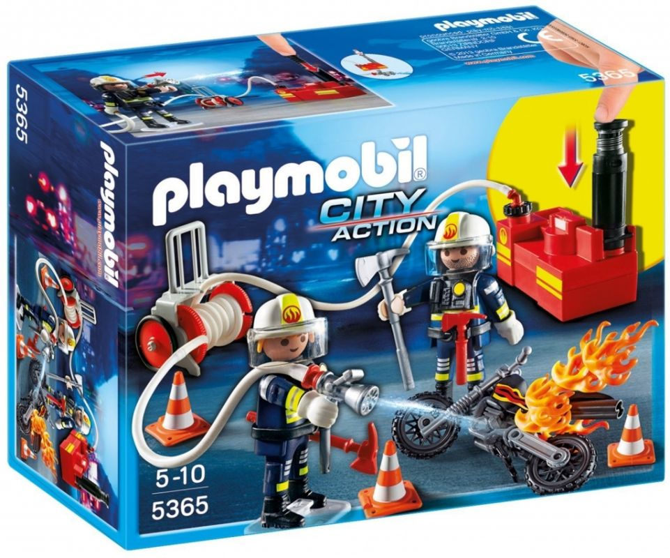 Hasičské čerpadlo 5365 Playmobil Playmobil