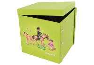 Hrací box - koně 2v1 80462 Playmobil Playmobil
